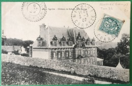 France N°111 Sur CPA 1907 - TAD (type B4) MENOIRE, Corrèze - (B335) - 1877-1920: Période Semi Moderne