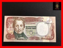 COLOMBIA  500 Pesos Oro 12.10.1990  P. 431  UNC - Kolumbien