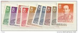 1958 MNH Norwegen, Norway, Norge, Postfris - Norvegia