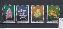 Papua Neuguinea Michel Cat.No. Mnh/** 275/278 Flowers - Papua New Guinea