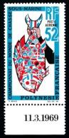 POLYNESIE 1969 - Yv. PA 30 ** Bdf Daté  Cote= 55,00 EUR - Championnats Du Monde De Chasse Sous-marine  ..Réf.POL25138 - Poste Aérienne