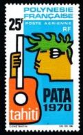 POLYNESIE 1969 - Yv. PA 28 ** SUP  Cote= 27,00 EUR - PATA 1970  ..Réf.POL25136 - Oblitérés