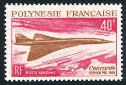 POLYNESIE 1969 - Yv. PA 27 ** SUP  Cote= 66,00 EUR - Avion Supersonique Concorde  ..Réf.POL25135 - Oblitérés