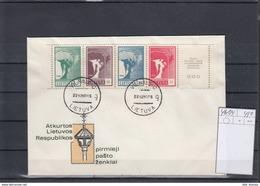 Litauen Michel Cat.No. FDC 461/464 - Lituanie