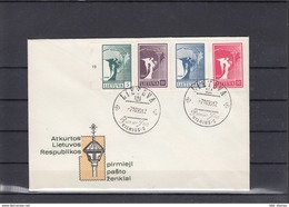 Litauen Michel Cat.No. FDC 457/460 - Lituanie