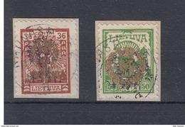 Litauen Michel Cat.No.  Used 264/265 - Lituanie