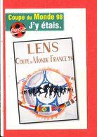 62 LENS Cp Coupe Du Monde 1998 - Calcio