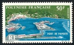 POLYNESIE 1966 - Yv. PA 20 ** TB  Cote= 21,00 EUR - Port De Papeete  ..Réf.POL25128 - Oblitérés