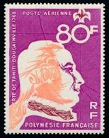 POLYNESIE 1968 - Yv. PA 24 ** TB  Cote= 15,50 EUR - Découverte De Tahiti - Bougainville  ..Réf.POL25132 - Oblitérés