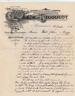Territoire De Belfort - Beaucourt - Ch. Rigoulot -  Fabrique D'horlogerie  - 1898 - France
