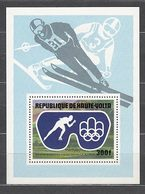 Alto Volta Hojas Yvert 5AK Sin Sobrecarga ** Mnh  Olimpiadas De Insbruck - Obervolta (1958-1984)