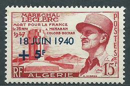 Argelia - Correo Yvert 345 * Mh  General De Gaulle - Algérie (1962-...)