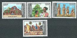 Burkina Faso - Correo Yvert 965/8 ** Mnh  Navidad - Burkina Faso (1984-...)