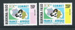 Burkina Faso - Correo Yvert 1002A/B ** Mnh - Burkina Faso (1984-...)