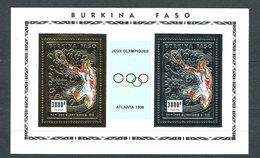 Burkina Faso - Correo Yvert 942/3 Hojita ** Mnh  Deportes Tenis - Burkina Faso (1984-...)