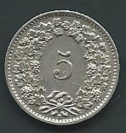 Suisse 5 Rappen 1954    PIA 23402 - Suisse