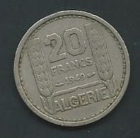 MONNAIE ALGERIE 20 FRANCS 1949 PIA 23406 - Algeria
