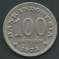 Indonésie INDONESIA 1973 100 Rupiah PIA 23409 - Indonésie