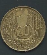 Madagascar 20 Francs 1953 PIA 23413 - Madagaskar
