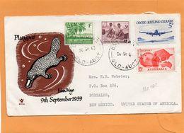 Cocos Keeling Islands Cover Mailed - Cocos (Keeling) Islands