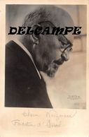 Dr CHAÏM WEIZMANN - Carte Photo Premier Président De L'Etat D'ISRAËL - Fondateur D'Israël - Israel