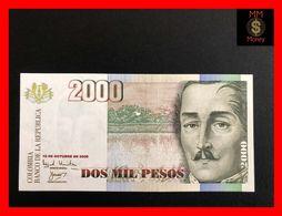 COLOMBIA 2.000 2000 Pesos  12.10.2000  P. 451  UNC - Kolumbien