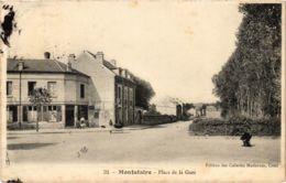 CPA Montataire- Place De La Gare FRANCE (1020639) - Montataire