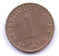 AUSTRIA 1983: 1 Schilling, KM 2886 - Autriche