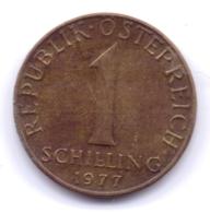 AUSTRIA 1977: 1 Schilling, KM 2886 - Autriche