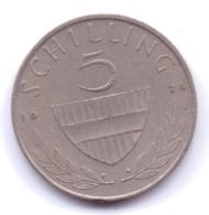 AUSTRIA 1974: 5 Schilling, KM 2889a - Autriche