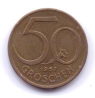 AUSTRIA 1967: 50 Groschen, KM 2885 - Autriche