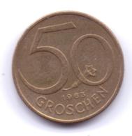 AUSTRIA 1963: 50 Groschen, KM 2885 - Autriche