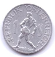 AUSTRIA 1947: 1 Schilling, KM 2871 - Autriche