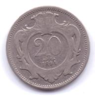 AUSTRIA 1894: 20 Heller, KM 2803 - Autriche