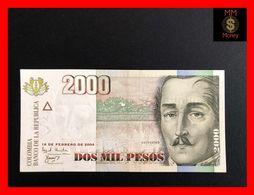COLOMBIA 2.000 2000 Pesos  19.2.2004  P. 451  UNC - Kolumbien