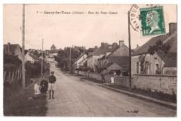 Cercy-la-Tour - Rue Du Pont Canot - édit. B.F. Berthaud 7 + Verso - France