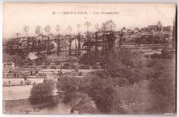 Cercy-la-Tour - Vue D'ensemble - édit. J. Vilaire 25 + Verso - France