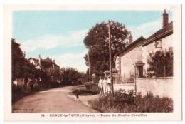Cercy-la-Tour - Route Du Moulin Chevillon - édit. Mathey - Artistic 24 + Verso - France