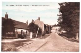 Cercy-la-Tour - Rue Du Champ De Foire - édit. Mathey - Artistic 25 + Verso - France