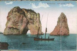 ( BEYROUTH )( LIBAN ) ROCHE DE PIGEON - Lebanon