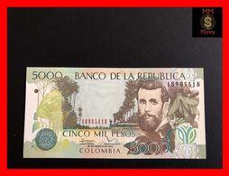 COLOMBIA 5.000 5000 Pesos  20.8.2012 P. 452 UNC - Kolumbien