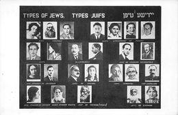 JUDAISME - JUDAICA - TYPES OF JEWS - TYPES JUIFS Portraits Différents Pays Du Monde Exposition Internationale Paris 1937 - Giudaismo