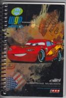 Cars 2 - Pixar - Comics Movie - Disney - Interstat Holland Netherlands - Agenda Notebook - Full Of Pages - 155/105 Mm - Libri, Riviste, Fumetti