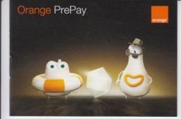 Orange Telecommunications - Orange Prepay SIM User's Manual - 12 Pages - Size Of The Book 105/75 Mm - Livres, BD, Revues
