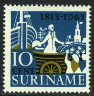 Suriname, 1963, Independence, Prince Of Orange, MNH, Michel 440 - Surinam ... - 1975