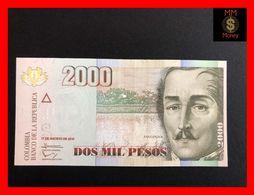 COLOMBIA 2.000 2000 Pesos  17.8.2012  P. 457  UNC - Kolumbien