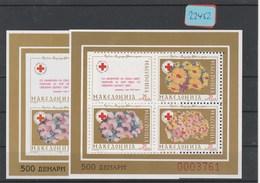 Mazedonien   Postfrisch**  2x  MiNr. Block 8A - Macédoine
