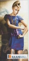Romania - Fashion Brochure - Iulius Mall Shopping Center - Fashion Mode Haute Couture - Mode