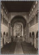 Quedlinburg Gernrode - S/w Stiftskirche 2   Innenansicht - Quedlinburg