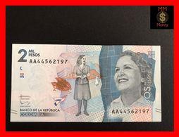 COLOMBIA 2.000 2000 Pesos  19.8.2015  P. 458  UNC - Kolumbien